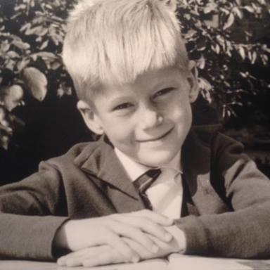 Een jonge Piet Beentjes